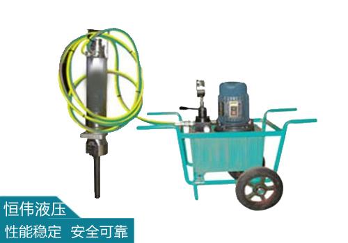 液压劈裂器的使用方法及注意事项!