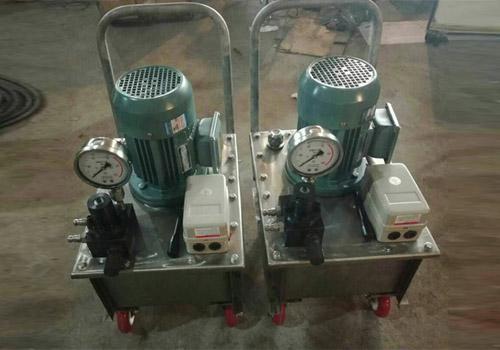 DBS单泵双回路系列电动泵