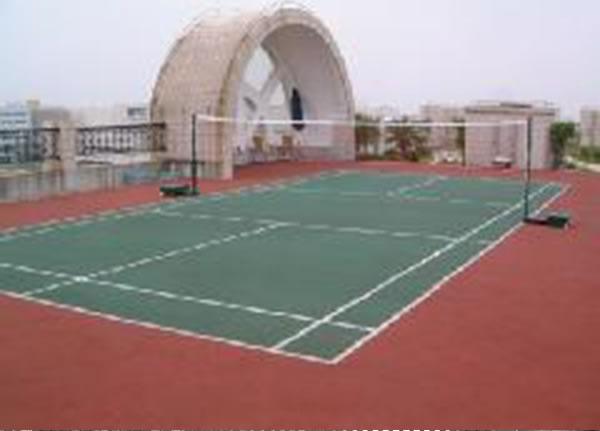 室外球场地坪