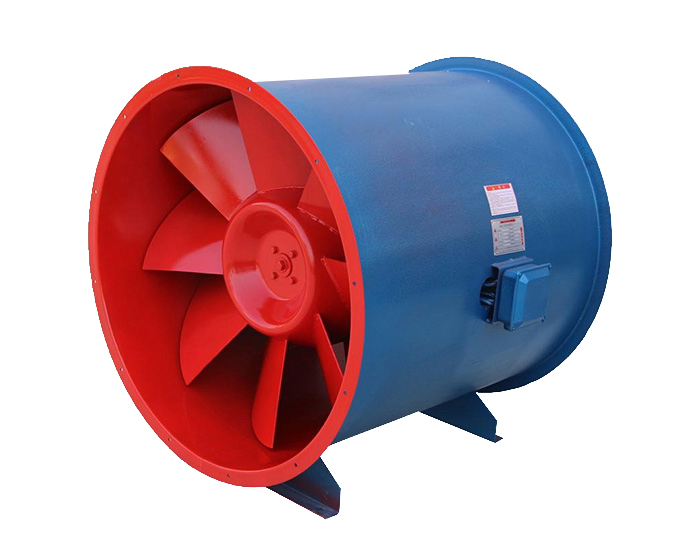 低噪声混流通风机