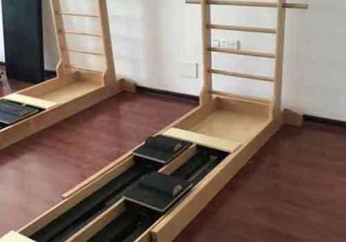 普拉提双向梯床木制滑动稳定床