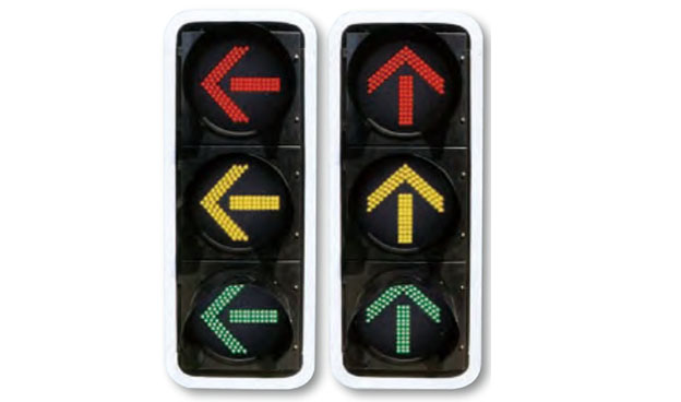 河南箭头指示信号灯