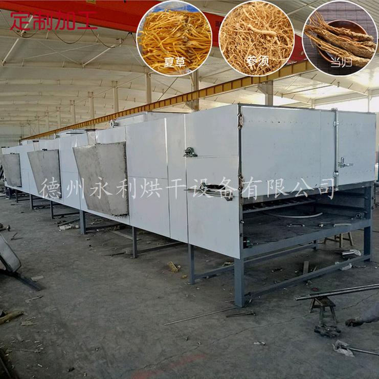 山東食品烘干機比傳統的烘干機烘干量大一點。