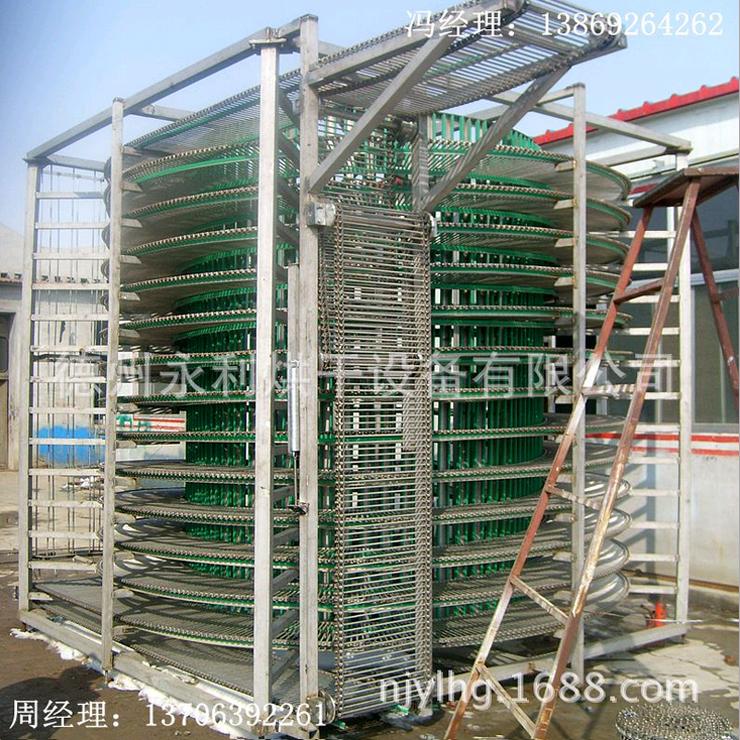 单螺旋冷冻输送塔