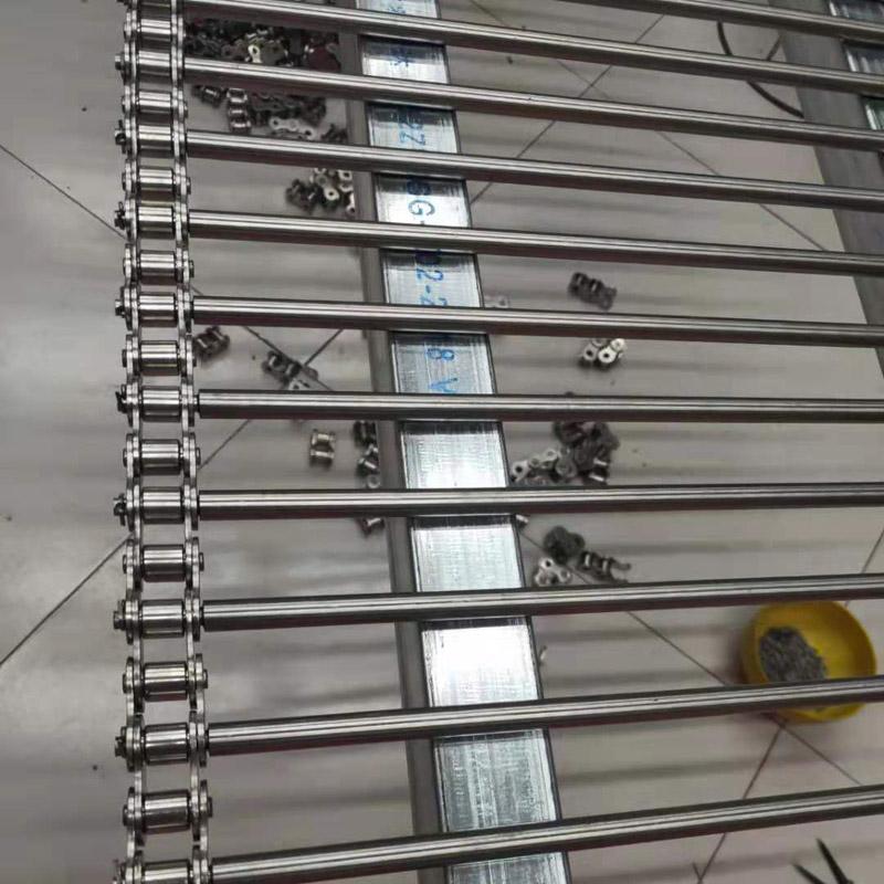 支杆链输送带