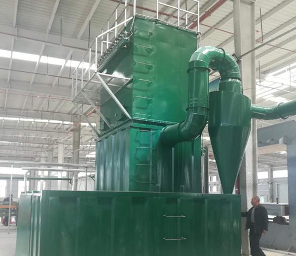 石料厂袋式除尘器
