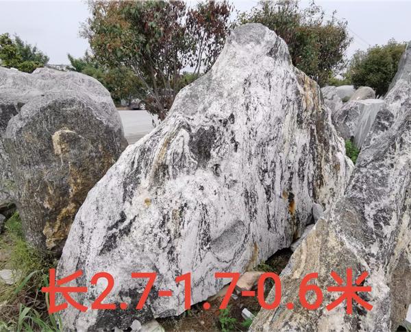 2.7米长泰山石