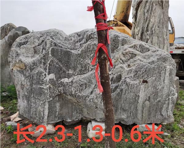 2.3米长泰山石