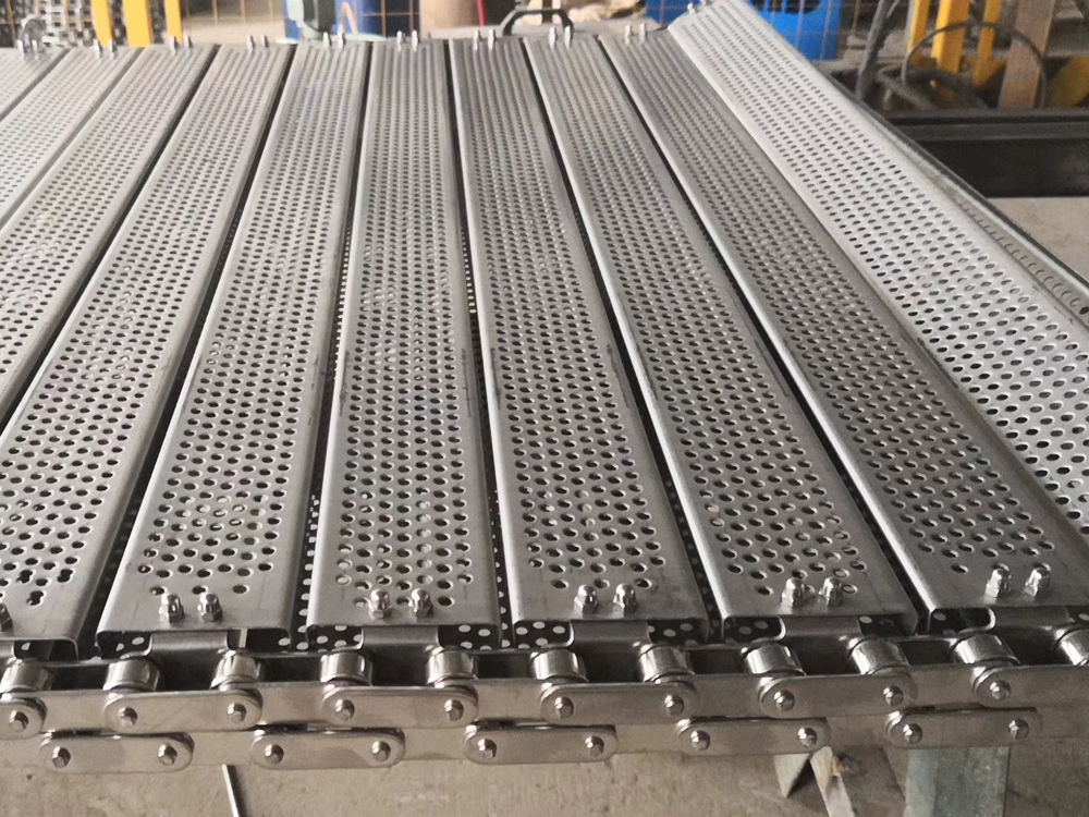 C型钢冲孔链板