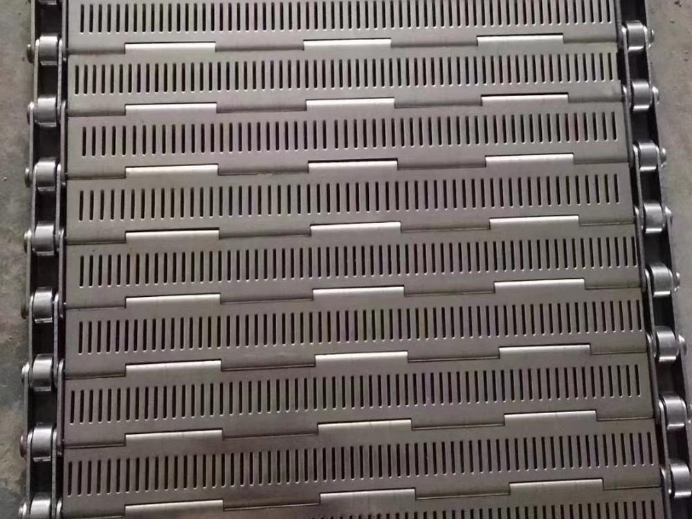 不锈钢食品冲孔链板