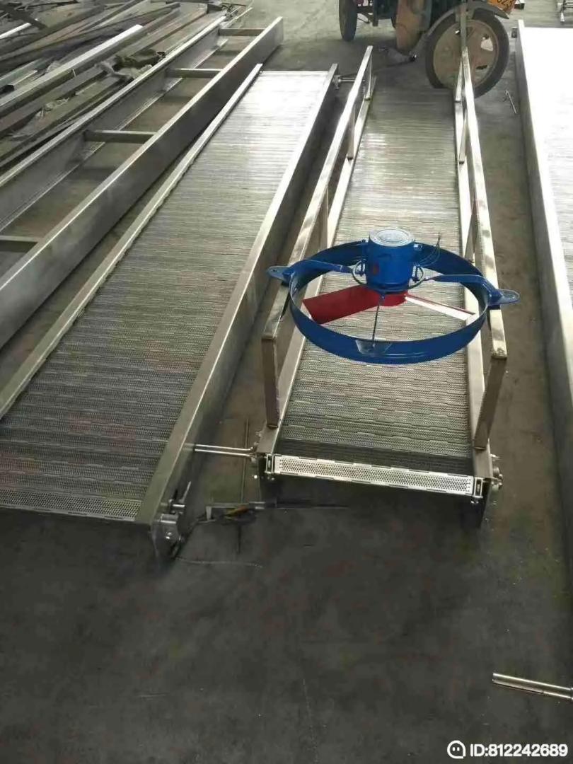 304食品级链板输送机/材质可定