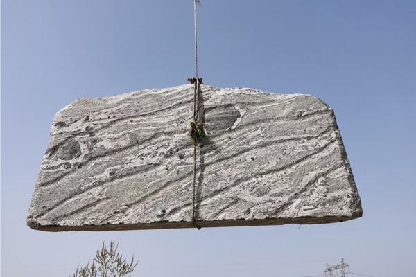 3米泰山石卧石装车完成