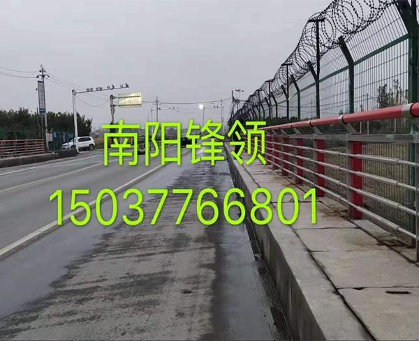 焦作南水北调跨渠桥梁护栏改造 效果展示