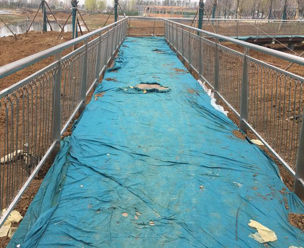 栈道不锈钢护栏安装完工!