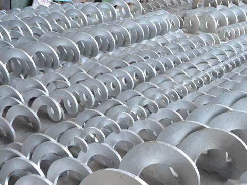 锰钢螺旋叶片