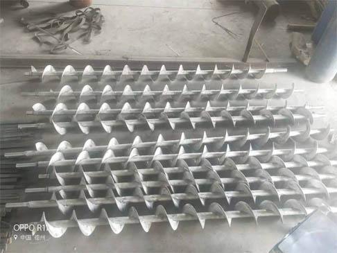 安阳螺旋叶片生产
