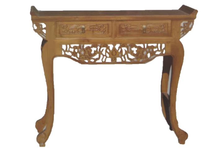 老榆木供桌定制