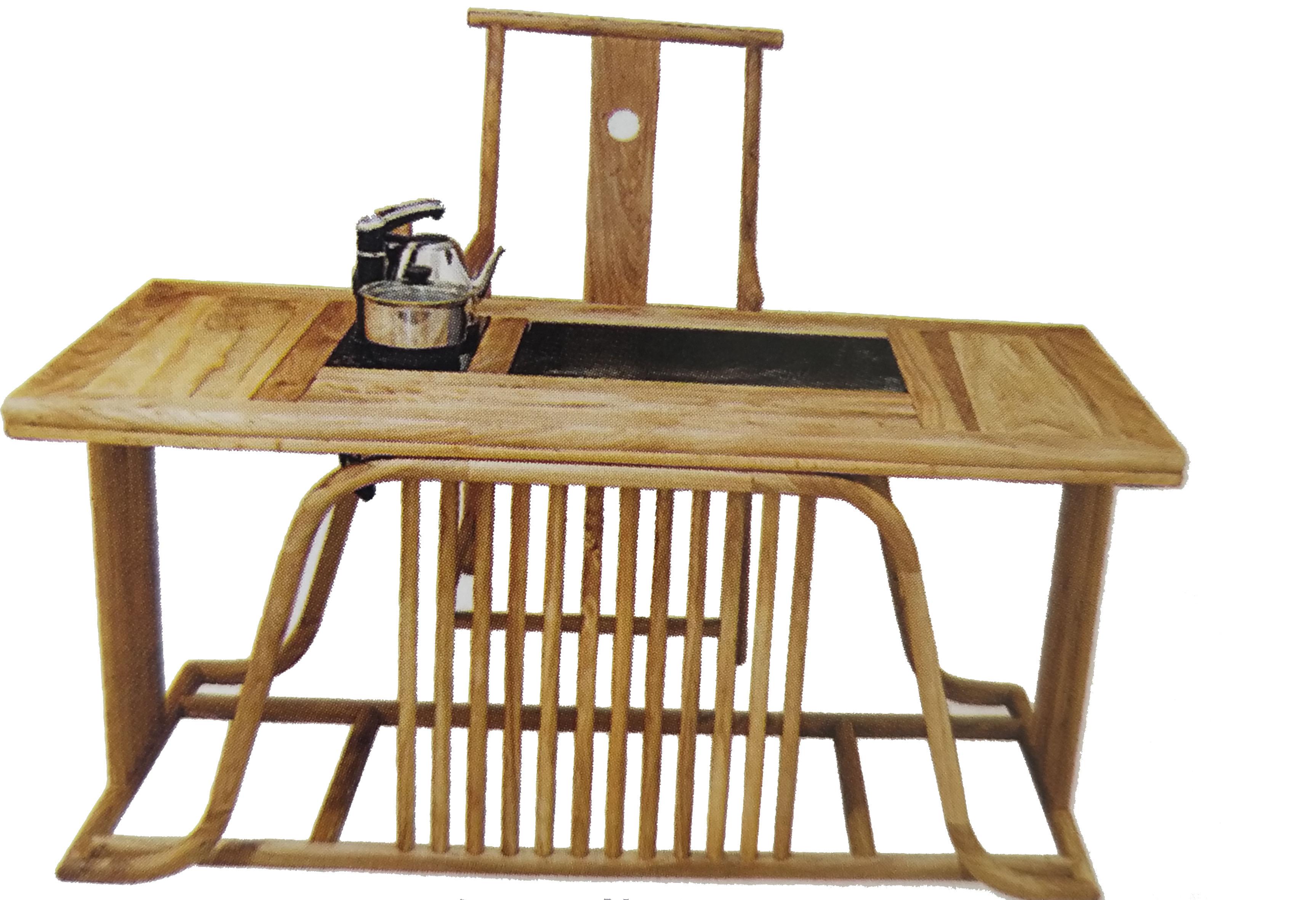 老榆木茶桌定制