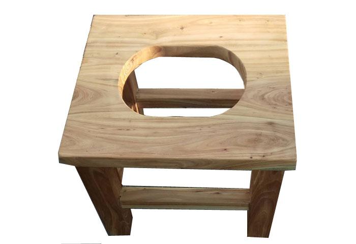 实木座便凳