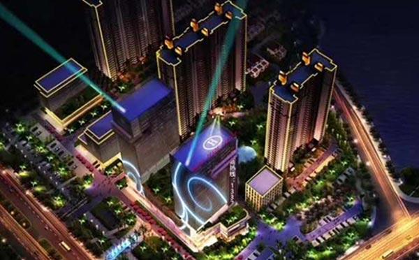 河南城市夜景亮化施工