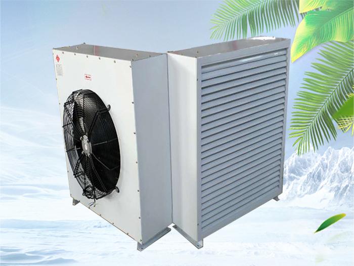 热水暖风机安装