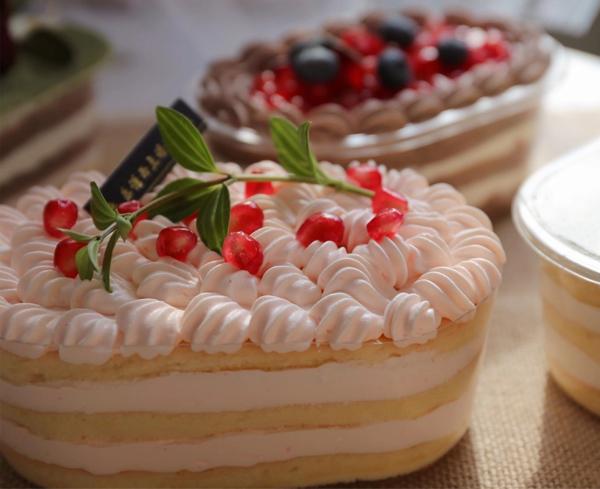 豆乳盒子蛋糕