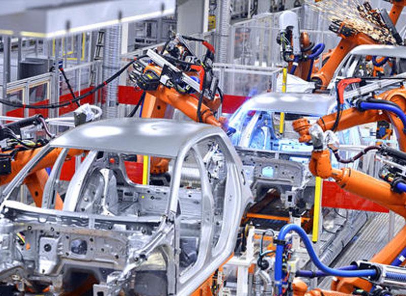 工业自动化流水线安装