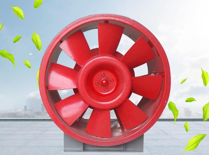 3C认证轴流排烟风机