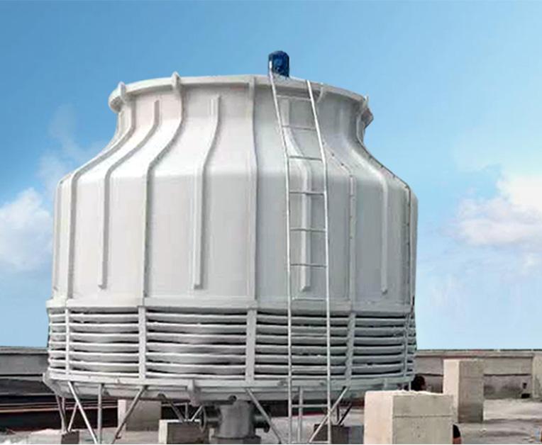 圆形逆流式冷却塔制造