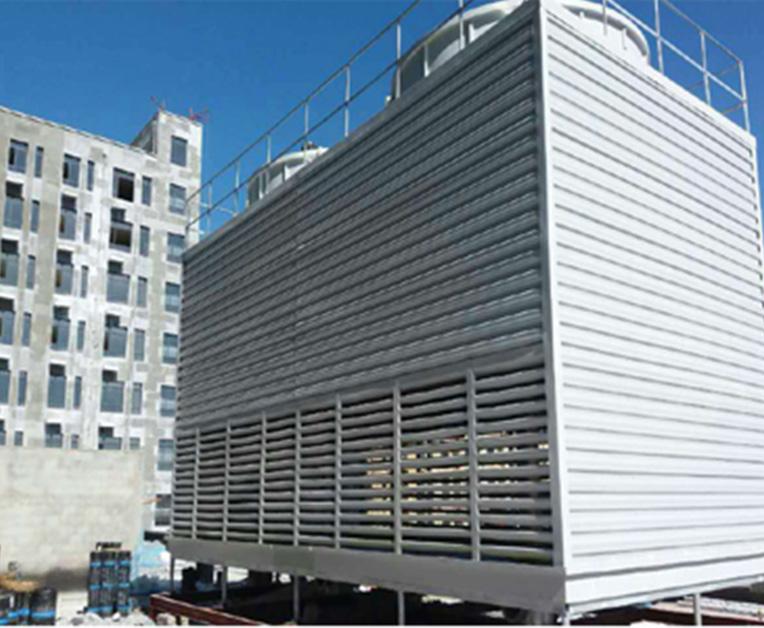 大型方形逆流式冷却塔