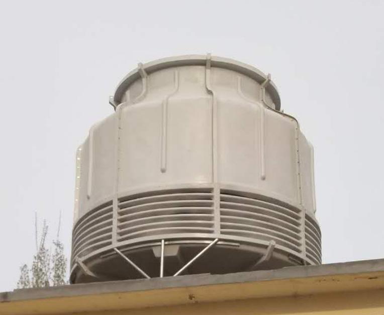 圆形逆流式冷却塔