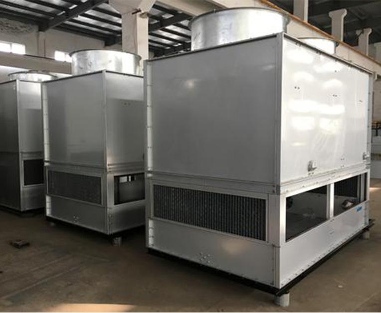 逆流闭式冷却塔生产
