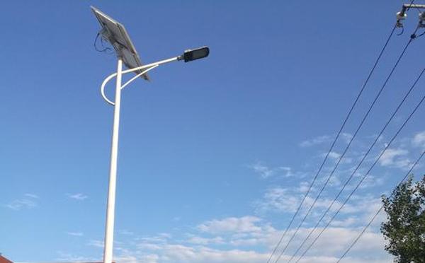 新野太阳能led路灯批发