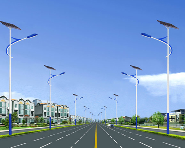 太阳能路灯城市