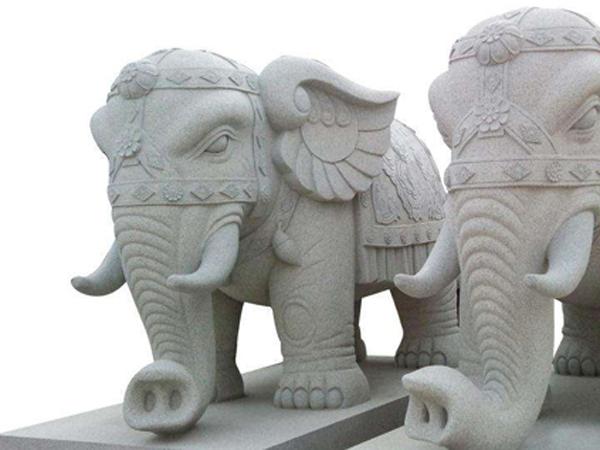 园林石雕动物