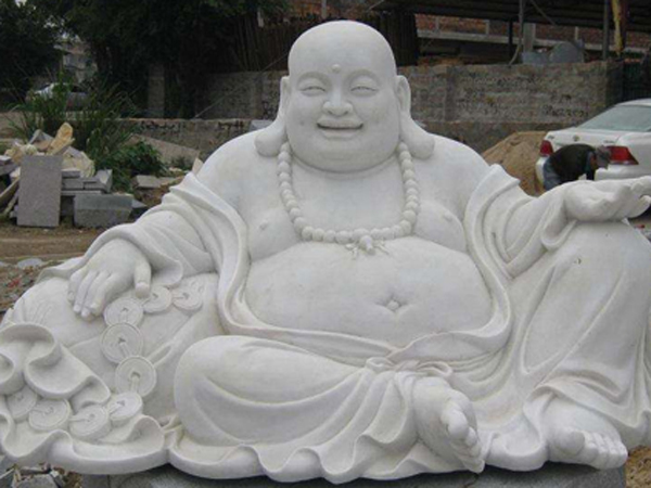 石雕佛像弥勒佛