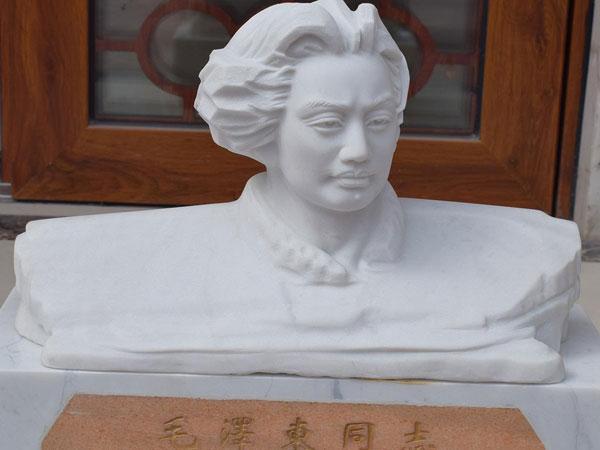 石雕人像-半身石雕毛主席