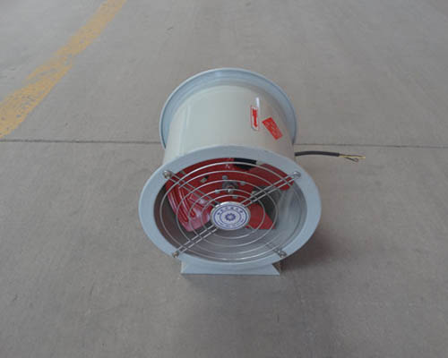 防腐轴流风机安装