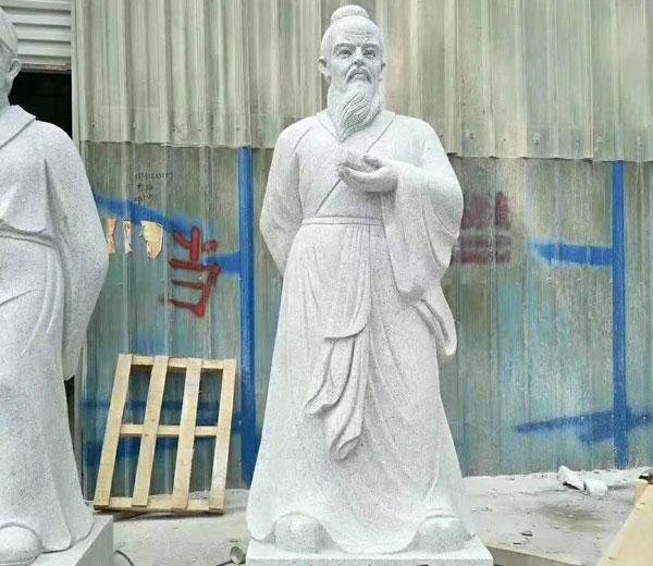 石雕人物-张仲景
