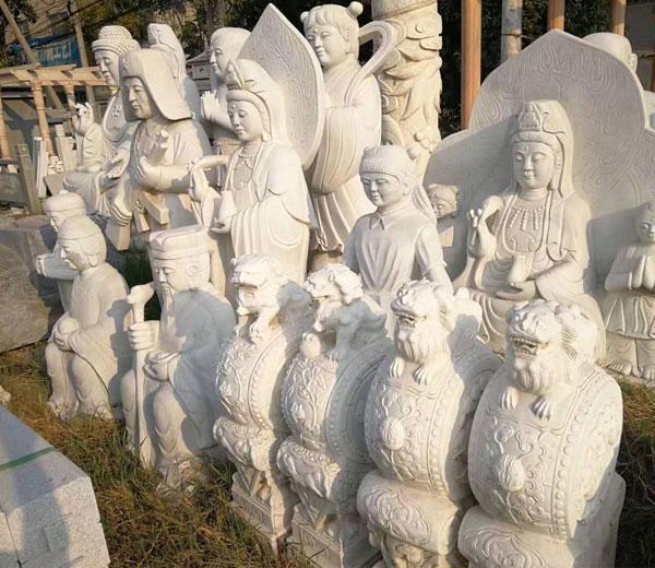 石雕工艺品-人物雕像