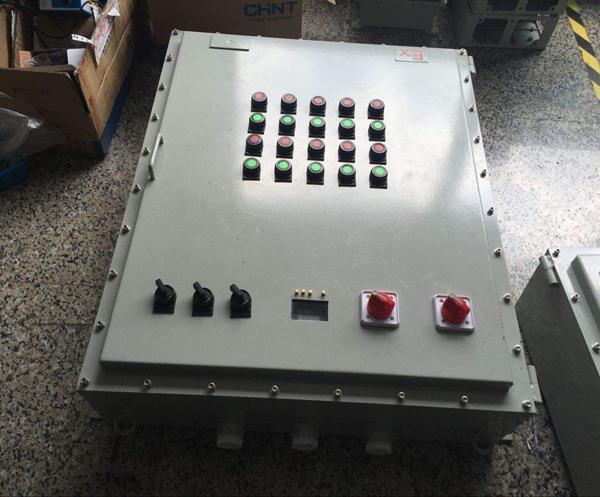 防爆按钮控制箱