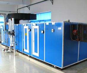吊顶式空调机组安装