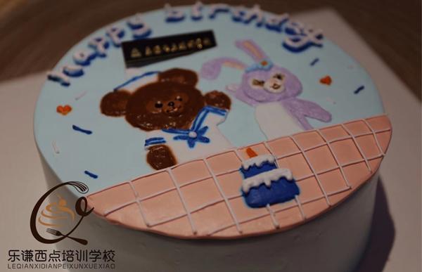 手绘蛋糕培训