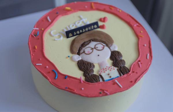 南阳手绘蛋糕课程