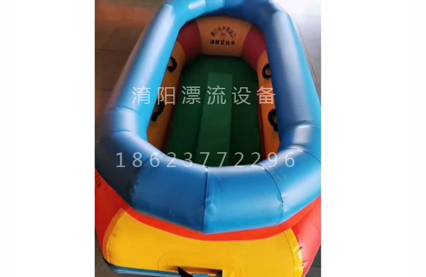 河南冬季漂流船