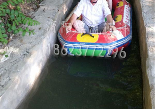 槽式漂流河道设计