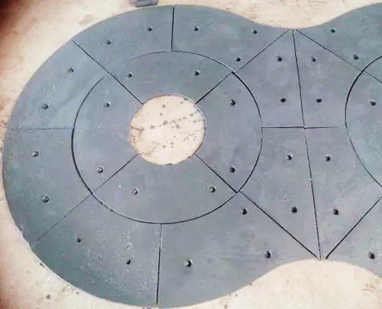 搅拌机扇形衬板