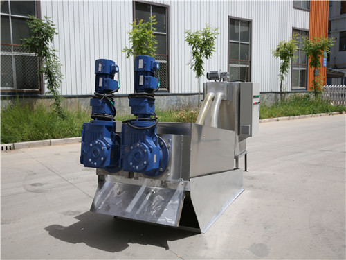 叠螺式污泥脱水机安装