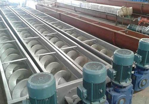 叠螺污泥输送机安装