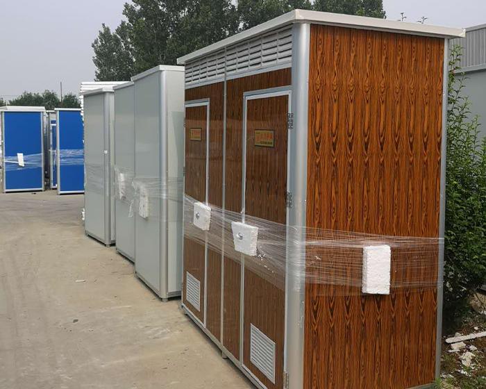 彩钢板环保厕所